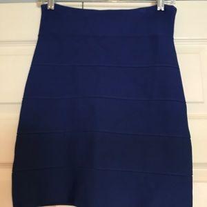 Royal Blue BCBG Pencil Skirt